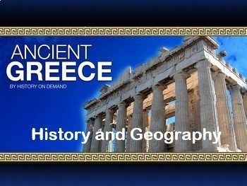 Ancient Greece Unit Super Bundle: 3 PowerPoints, Outlines,  2 Video Guides, Test