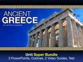 Ancient Greece Unit Super Bundle: 3 PowerPoints, Outlines,