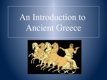Ancient Greece - PowerPoint Presentation