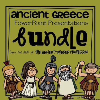 Ancient Greece PowerPoint Presentations Bundle