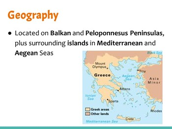 Ancient Greece PowerPoint (WHI.5)