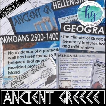 Ancient Greece PowerPoint and Guided Notes