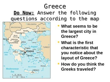Ancient Greece PowerPoint notes