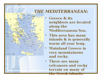 Ancient Greece Powerpoint - Journey Across Time Chapter 4/5