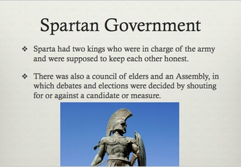 Ancient Greece Presentation Slides