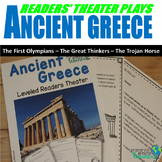 Ancient Greece Reader's Theater Plays (With Leveled Parts)