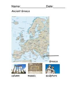 Ancient Greece Reading Comprehension