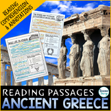 Ancient Greece Reading Passages - Questions - Annotations
