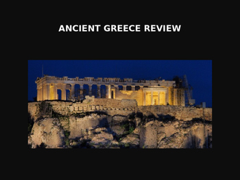 Ancient Greece (Review)