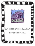 Ancient Greece Review Find Someone Who
