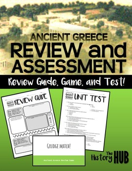 Ancient Greece - Review Guide