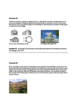 Ancient Greece & Rome DBQ