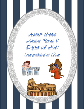 Ancient Greece, Ancient Rome & Empire of Mali Quiz