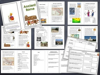 Ancient Greece, Rome and Mali Mini Books Bundle (Special Request)