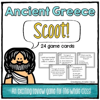 """Ancient Greece """"SCOOT!"""""""
