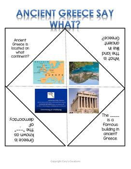 Ancient Greece SOL 3.1