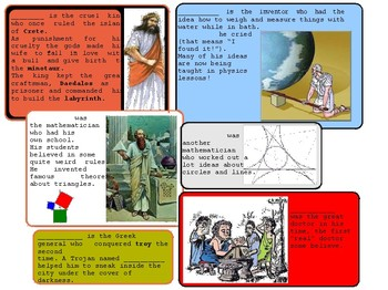 Ancient Greece: Search Cut and Glue