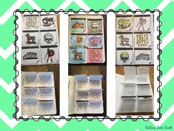 Ancient Greece - Sticky Note Summaries Interactive Notebook Activity