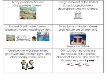 Ancient Greece Study Cards