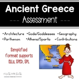 Ancient Greece Assessment