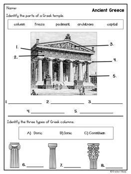 Ancient Greece Assessment