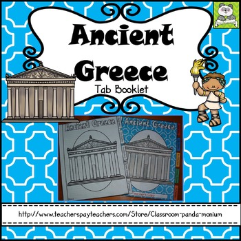 Ancient Greece Tab Booklet