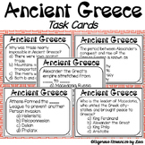 Ancient Greece Task Cards: What do you know about Ancient Greece?