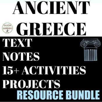 Ancient Greece Teacher Resource Bundle for Ancient Greece Unit