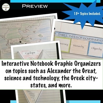 Ancient Greece Teacher Resource Bundle for Ancient Greece Unit