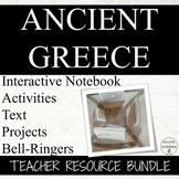 Ancient Greece Unit of Notes Activities and Projects