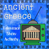 Ancient Greece Television Show Activity