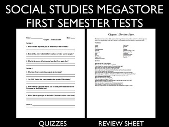 Ancient Greece / Rome Test and Quizzes