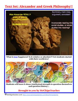 Literacy - Ancient Greece (Text Set)