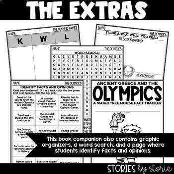 Ancient Greece & The Olympics (Magic Tree House Fact Tracker)