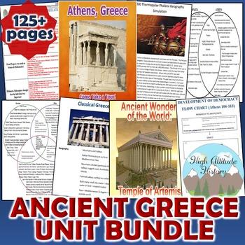 Ancient Greece Unit / Ancient Greece *Unit Bundle* (World History)