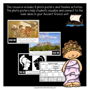 Ancient Greece Timeline Kit with Posters & Activities