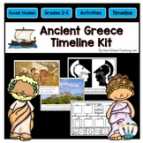 Ancient Greece Activities: Timeline Kit with Photo Posters for Bulletin Boards