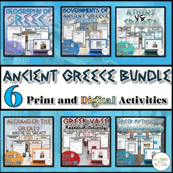 Ancient Greece Unit Bundle