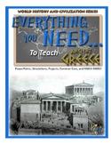 Ancient Greece Unit Plan (Complete Lesson Plans)