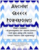 Ancient Greece Unit PowerPoints