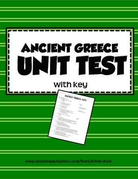 Ancient Greece - Unit Test