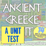 Ancient Greece Test! 38 questions to accompany the unit from History with Mr E!