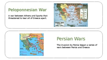 Ancient Greece Visual Vocabulary
