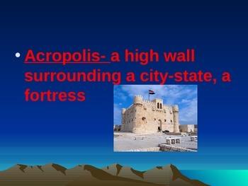 Ancient Greece Voc Presentation Part I
