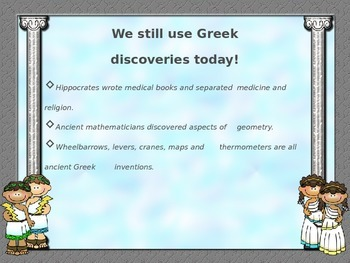 Ancient Greece Vocabulary & Facts