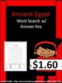 Ancient Greece Word Search w/ Answer Key