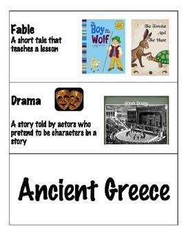 Ancient Greece Word Wall!