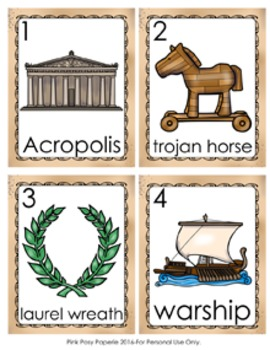 Ancient Greece Write the Room