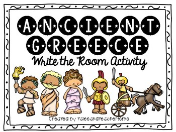 Ancient Greece Write the Room Review Activity
