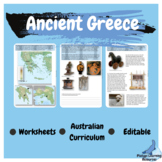 Ancient Greece Year 7 and 8 History Worksheets  Australian